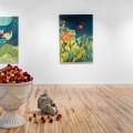 L'exposition The Flowering Songs de Darby Milbrath, présentée chez Projet Pangée. (Photo : Projet Pangée)