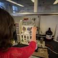 L'UdeM est la seule université au Canada à disposer d'équipements pour étudier le flux continu. (Crédit photo : Benjamin Parinaud)