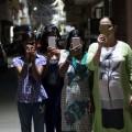 Le film d'Anandana Kapur utilise des extraits filmés par des femmes de différents milieux avec leur téléphone portable. (Photo: Courtoisie  Aoun Naqvi)