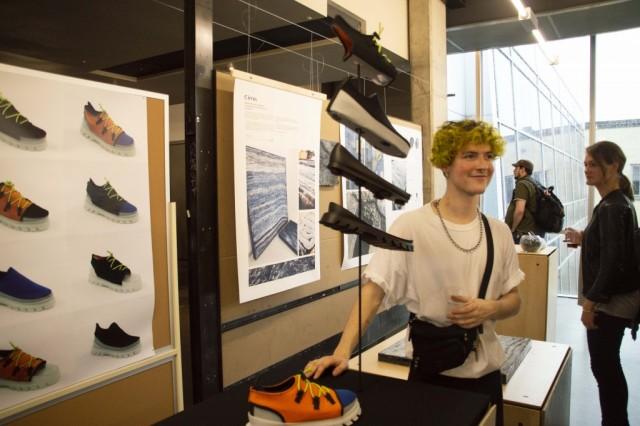 Flippé permet de réaliser plusieurs combinaisons différentes avec la même chaussure. (Crédit photo : Marianne Castelan)