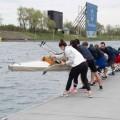 L'événement de la fin de semaine a été rendu possible grâce à l'aide du Club d'Aviron de Montréal, qui a prêté un de ses bateaux pour l'occasion.  (Crédit photos : Marianne Castelan)