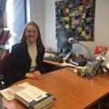 La professeure au Département de linguistique et de traduction de l'UdeM Chantal Gagnon estime qu'il est important que l'université se penche sur ces questions. (Crédit photo : Thomas Laberge)