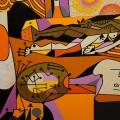 Une peinture d'Alfred Pellan, l'artiste québécois que Patricia a choisi pour mener son expérimentation. (Crédit photo : Flickr.com I Luc Blain)