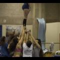 L'équipe de cheerleading des Carabins a remporté toutes les compétitions provinciales cette année. (Crédit photo : Alpha Coulibaly)