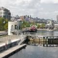 Ouvert en 1825, le Canal de Lachine a joué un rôle fondamental dans le développement de Montréal et montre l'importance de l'eau pour la métropole. (Crédit photo : Wikimedia Commons I Chicoutimi)