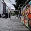 Surfaces, l'expo d'art urbain s'affiche en ce moment au Quartier des spectacles et ce jusqu'au 28 octobre. (Crédit photo : Courtoisie Quartier des spectacles)