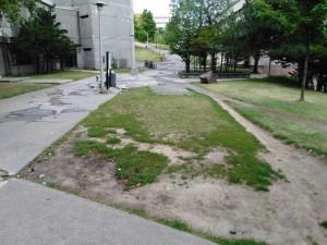 M. Trudeau souhaite profiter de la Semaine du campus à vélo pour sensibiliser les étudiants au transport actif. Crédit Photo: Louis-Eric Trudeau