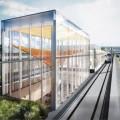 Pendant la construction du REM, la Caisse des Dépôts et Placements du Québec annonce la création de 34000 emplois. Courtoisie de REM.info