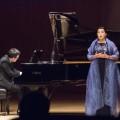 La soprano Monique Pagé lors du Concert des profs de l'UdeM le 25 septembre dernier. (Crédit Romeo Mocafico)