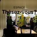 Paralèllement à l'Espace Thèsez-vous, l'organisme tient 18 retraites de rédaction cette année. Crédit photos : Zacharie Routhier.