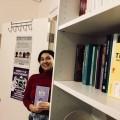 La Coordonnatrice aux affaires féministes de l'ADÉPUM, Pauline Noiseau définit un ouvrage féministe comme un livre qui traite des problématiques et des enjeux propres aux femmes. Photo : Courtoisie Sofépum