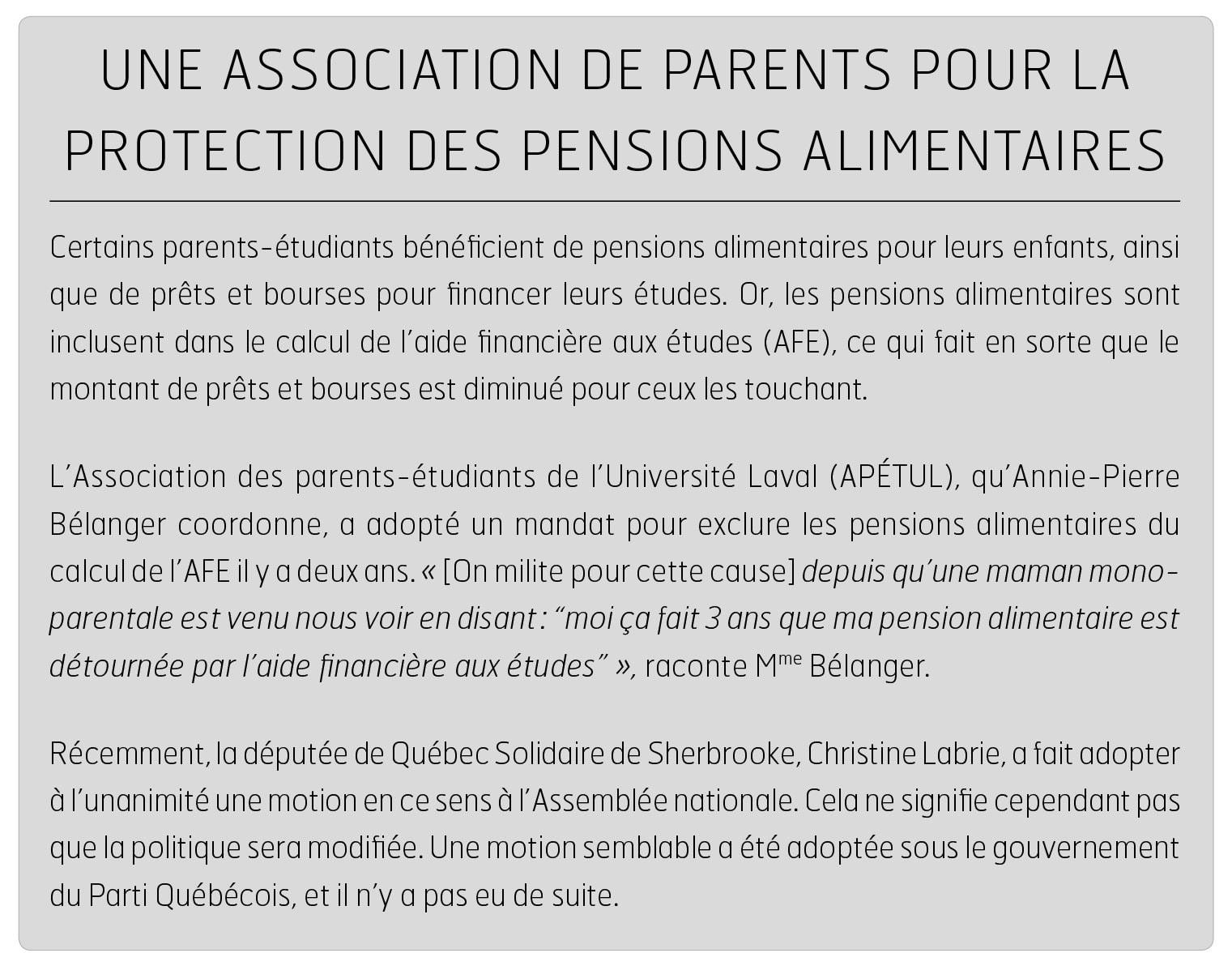 Parent Etudiant Argent Quartier Libre