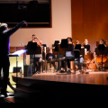 L'Atelier de musique baroque lors de l'opéra du 1er décembre (Crédit Romeo Mocafico).