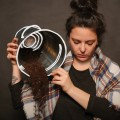 L'étudiante Aurélie Spiaggia incarne le personnage d'Adèle dans la pièce (Crédit Benjamin Parinaud).