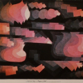 Fugue en rouge, 1922 (Crédit Paul Klee)