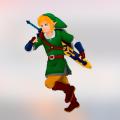 Quatre des seize pistes de l'album de Laurence Manning seront tirés de l'univers de Link, le personnage de la série Nintendo, La légende de Zelda (illustration Pixabay).