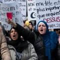 La marche était organisée par le Collectif Canadien Anti-Islamophobie. Crédit photos : Jean-Baptiste Demouy et Zacharie Routhier.