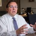 Guy Breton est le recteur de l'UdeM depuis 2009. Photo : Benjamin Parinaud.