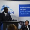 Près de 200 personnes étaient présentes à l'École de santé publique pour entendre le récit du docteur Mukwege. (Crédit photos : Thomas Martin)