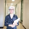 La professeure au Département de psychologie de l'UdeM, Isabelle Daigneault, centre ses recherches autour de BÉRA, d'un programme éducatif féministe. Crédit : Jacob Côté