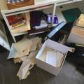 Le local de l'association de muséologie a été cambriolé le 5 août dernier.  Photo courtoisie : Laura Delaunay