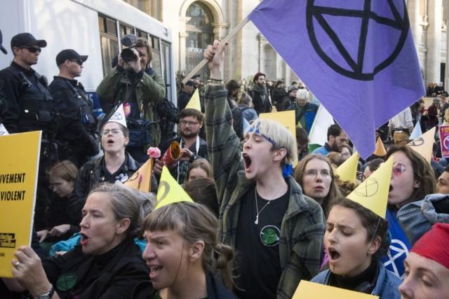 Du 5 au 12 octobre se tient la Semaine de la rébellion à Montréal et ailleurs dans le monde. Crédit photo: Roméo Mocafico