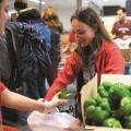 En trois ans, la fréquentation de la banque alimentaire de l'UdeM a triplé. Photos : Jacob Côté