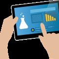 Les étudiants de la faculté de pharmacie peuvent se procurer une tablette électronique au service de prêt.  Photo : Pixabay