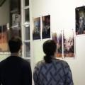 Les perceptions, un ensemble de photomontages réalisés par l'artiste Ali Kholdebarin, alias Hiver_AK. Photos : Louis-Philip Pontbriand