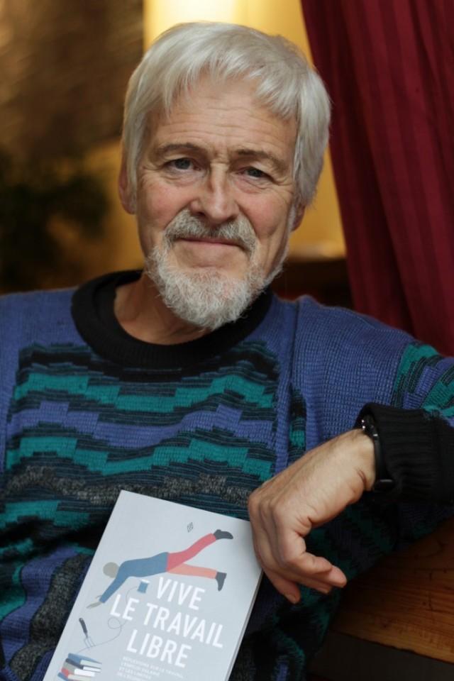 Bien que retraité de Radio-Canada depuis 2011, Pierre Sormany n'arrête pas de travailler pour autant.