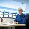 Luc Madore, 76 ans, terminera son baccalauréat en histoire à l'UdeM au printemps 2020  Photo : Jacob Côté