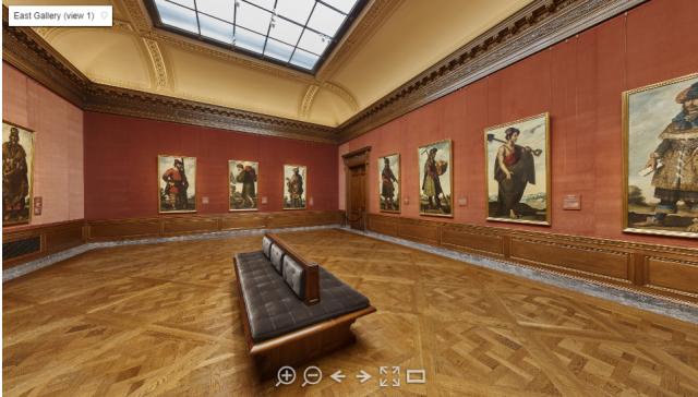 Exposition virtuelle du Frick Collection. Photo : Capture d'écran Frick.org